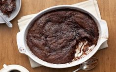 Malted Chocolate Pudding Cake by Food Network Kitchens (Chocolate) @FoodNetwork_UK
