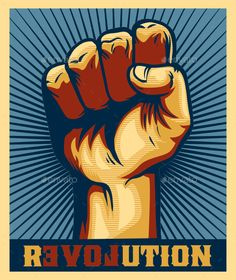 ◑ [GET]◨ Revolution Clenched Fist Power Hand Propaganda Poster Anger Arm Assistance Authority Communism Concept Arte Do Hip Hop, Revolution Poster, Protest Posters, Propaganda Art, Political Art, Power To The People, A Level Art, Communism, Hand Designs