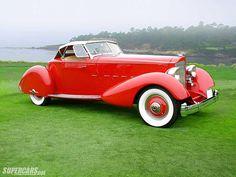 1934 Packard V-12 Speedster by Lebaron - (Packard Motor Car Company Detroit, Michigan 1899-1958)