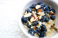 Quinoa Breakfast bowl on linnea.elle.se