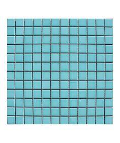 Pool Mint 23x23mm Mosaic Tile | Topps Tiles