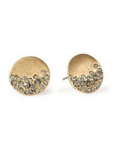 Piperlime | Urban Glitz Diamond Stud Earring