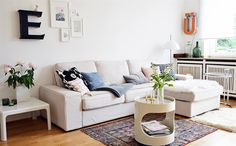 KIVIK sofa | Stephanie's bright living room | At home in Germany | live from IKEA FAMILY