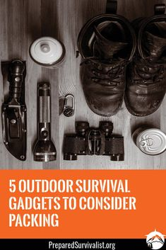 Surviving in any outdoor situation means that you have to have the gadgets that can help you. While there are many tools available that offer to help ensure survival, there are five top gadgets that no one should be without. Survival Gadgets, Survival Mode, Survival Prepping, Survival Skills, Bushcraft Kit, Bushcraft Skills, Bushcraft Knives, Bug Out Gear, Best Camping Meals