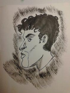 Dibujo rapido de Prince