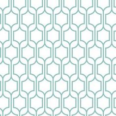 "Bistro 750 33' x 20.5"" Trellis Wallpaper"