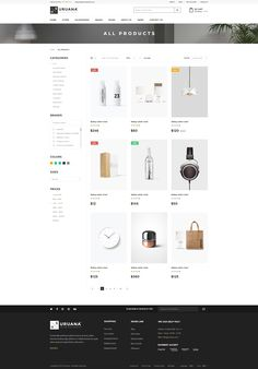 Uruana – eCommerce PSD Template is a uniquely ecommerce website template designed in Photoshop with a modern look. PSD files are well organized and named accordingly so its very easy to customize a...
