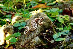 Romano-British Dragonesque Brooch Replica - Available on www.peraperis.