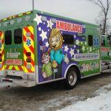 Mac's Ambulance Lift NICU Ambulance Ambulance Credit: AEV - American Emergency Vehicles www.macsliftgate.com
