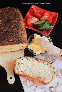 Chleb cebulowy. | Tysia Gotuje blog kulinarny Sandwiches, Ale, Food, Ales, Meals, Yemek, Eten