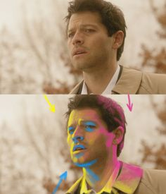 "pauflip: "" ruem: "" "" euclase: pausing from drawing to do a tiny lighting demonstration for the anon. i've marked the major light sources. YELLOW is the strongest. PINK is the same as yellow (the sky, basically), but it's coming in at a steeper angle,..."
