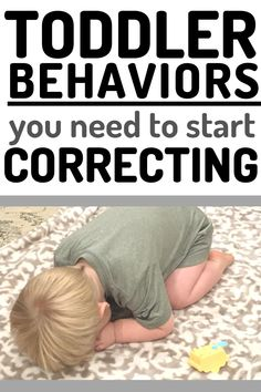 Examples of Toddler Behaviors that need your attention and correction. Don't keep ignoring behaviors thinking theyll go away! Instead, start correcting them with teaching and thoughtful discipline! Including How to make a plan that works for your family! #toddler #toddlerdiscipline #discipline #baby #tantrums #terribletwos #momlife #mom #momhacks Toddler Behavior, Toddler Discipline, Discipline Plan, Positive Discipline, Toddler Chores, Toddler Schedule, Toddler Learning Activities, Parenting Toddlers, Family Activities