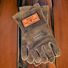 personalized grilling gloves
