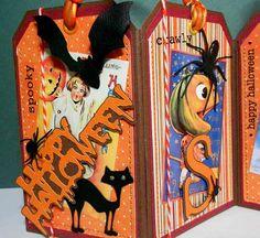 Halloween tags - cute