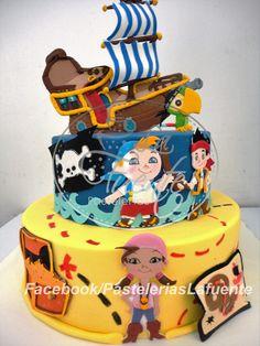 Pastel Jack y los Piratas
