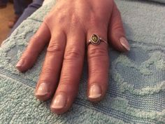 Manicure with French polish
