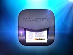 Scanner iOS Icon by ALEX BENDER