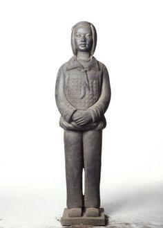 Prune Nourry Terracotta Daughter #2 Pan, 2013 Social Awareness, Terracotta, Buddha, Sculpture, Statue, Daughters, Change, Impressionism, Cubism
