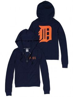 Yup just ordered this!    PINK Detroit Tigers Bling Perfect Full Zip Hoodie #VictoriasSecret http://www.victoriassecret.com/pink/detroit-tigers/detroit-tigers-bling-perfect-full-zip-hoodie-pink?ProductID=106178=OLS?cm_mmc=pinterest-_-product-_-x-_-x