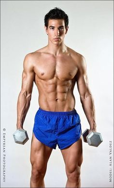 Lean Aesthetic fitness model Alan Valdez - Get In The Best Shape Of Your Life WebMuscleFitness.com