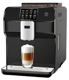 £500 BERG Toccare Uno B Series One Touch Automatic Bean to Cup Coffee Machine (Black)