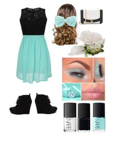 """""""PROM NIGHT #2"""" by sanchez-ashley ❤ liked on Polyvore featuring Lipsy, NARS Cosmetics and Accessorize"""