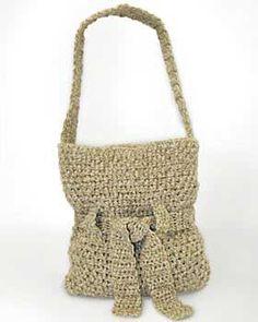Cute bag with a pretty tie detail