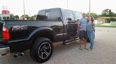 Long search for his dream truck is over after an easy deal and a successful delivery to Wichita. This Ford F-250 found a new home in Duncan, OK. Congratulations to the new owners Brent & Natalie