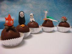 Geek-a-Bites: Nightmare Before Christmas and Studio Ghibli Cake Balls!
