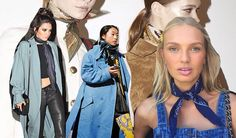 The scarf is returning! See how celebrities do it!