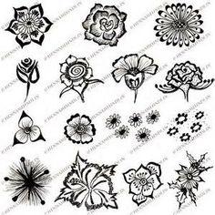 Simple Henna Tattoos Easy Flower Designs Tattoo