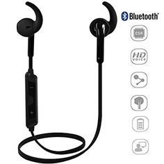 iPeli Wireless Bluetooth 4.1 Earphones, Headphone for Daily Use, Headset with…