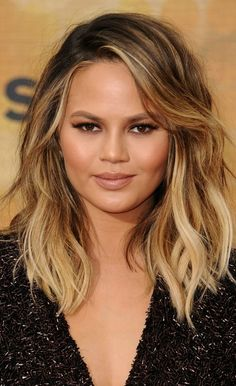 Chrissy Teigen takes her hair shorter and lighter for the summer.