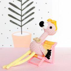 Pink flamingo stuffed animal Plush flamingo Crochet by SoCroch Flamingo Toy, Crochet Flamingo, Flamingo Gifts, Crochet Birds, Pink Flamingos, Hand Crochet, Mollie Makes, Roses Au Crochet, Unicorn Stuffed Animal