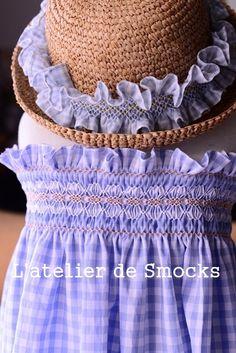スモッキング刺繍のサマードレス♪ の画像|スモッキング刺繍教室 スモッキング・コルベイユ 東京恵比寿