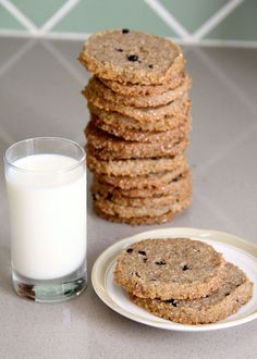 Rye Blueberry Cookies recipe