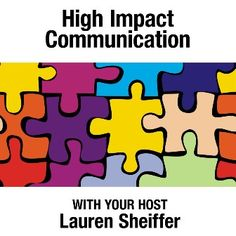 Sought after presenter and speaker Lauren Schieffer shows you the time-tested practices exemplary communicators possess, and teaches you how to shake loose your hidden talents, fire up your passion to communicate effectively?and succeed!