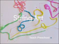 We brought some creativity into our recent exploration of measurement and length by exploring this wonderful process of string art…