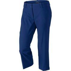 Want a Nike Ladies Modern Rise Tech Crop Golf Pants in your wardrobe? You've gotta get it today! Golf Attire, Golf Outfit, Womens Golf Wear, Golf Pants, Pants For Women, Clothes For Women, Nike Golf, Ladies Golf, Golf Shirts