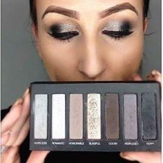 Feeling smokey?  Palette 2 is screaming your name! Go bold or more neutral but whichever way you go you need silvers and greys! http://ift.tt/2eGFu2A #share #younique