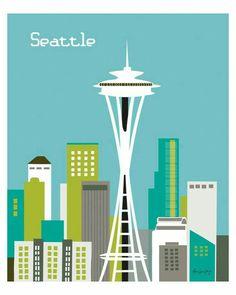 Nog even geen foto maar we zijn wel in Seattle gearriveerd. De laatste stop in onze rondreis.