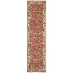 You'll love the One-of-a-Kind Serapi Heritage Hand-Knotted Red/Beige Area Rug at Wayfair - Great Deals on all Rugs products with Free Shipping on most stuff, even the big stuff.