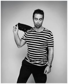 Port 13: Sam Rockwell by Andreas Laszlo Konrath. Styling Bruce Pask
