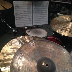 """If only I possessed the words (or the recording capability) to aptly describe the beauty that is my new pair of 16"""" Crash Hats. Literally can't wait to play everyday just to hear them sing and feel them dance to my every stroke; living the dream.  #dreamcymbals #drumlife #meinlcymbals #iamadrumwarrior #drumfam #musicaltheater #gretschdrums #gibraltarhardware #vicfirthsticks #sundayfunday #cymbaladdict #cymbalporn #drumporn by jeraldbittle"""
