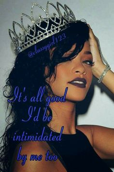 Find images and videos about Queen, rihanna and riri on We Heart It - the app to get lost in what you love. Rihanna Mode, Rihanna Riri, Rihanna Style, Rihanna Makeup, Good Girl Gone Bad, Bad Gal, Black Is Beautiful, Black Girl Magic, Pretty People