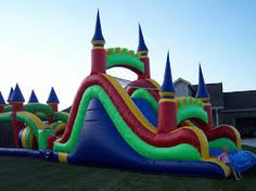 Get one of the best bounce house rentals in Portland, Windham, Scarborough & Falmouth Maine areas. inflatable bounce houses, water slides, & concession rentals from 207 bounce Falmouth Maine, Bounce House Rentals, Inflatable Bounce House, Bouncers, Water Slides, Playground, Things That Bounce, Outdoor Decor, Kids