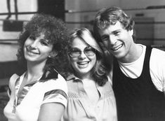 Barbra Streisand with Ryan O'Neal and Susan Mengers