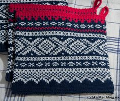 Marius-bølgen vil ingen enda ta og mønsteret er å finne på tilnærmet alt. Jeg er jo lett å innspi... Double Knitting Patterns, Pot Holders, Crochet Top, Blanket, Projects, Xmas, Diy, Women, Fashion
