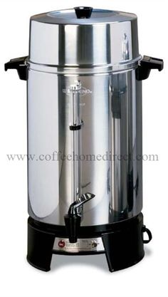 The Commercial coffee Urn is deal for a Hotel Lobby, Buffet Line, Office, or any other place that people drink a lot of coffee. #CoffeeUrn