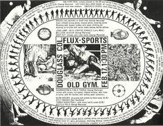 Fluxus-Sports Poster @ George Maciunas. 1970. Douglass College -